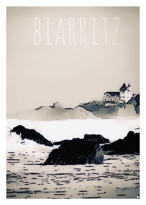 affiche pays basque