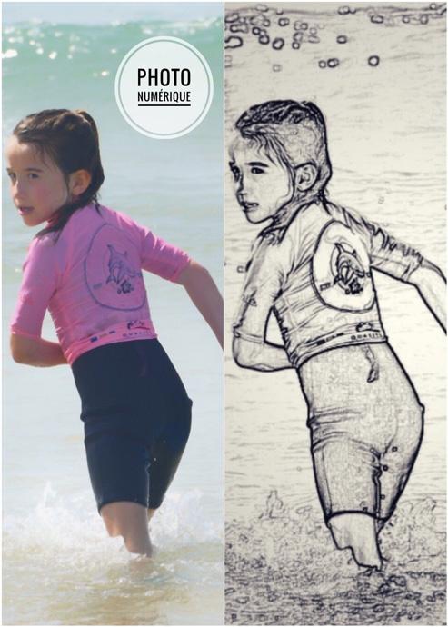affiche personnalisé-surf-photo